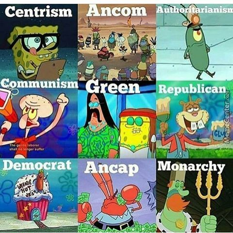 Political Parties In A Nutshell