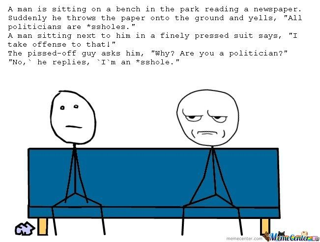 Politician Joke
