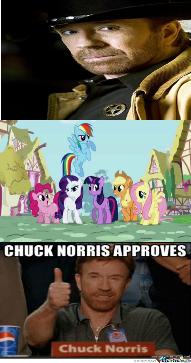 Ponies Are Chuck Approved