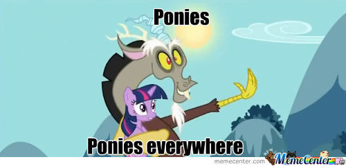 Ponies, Ponies Everywhere