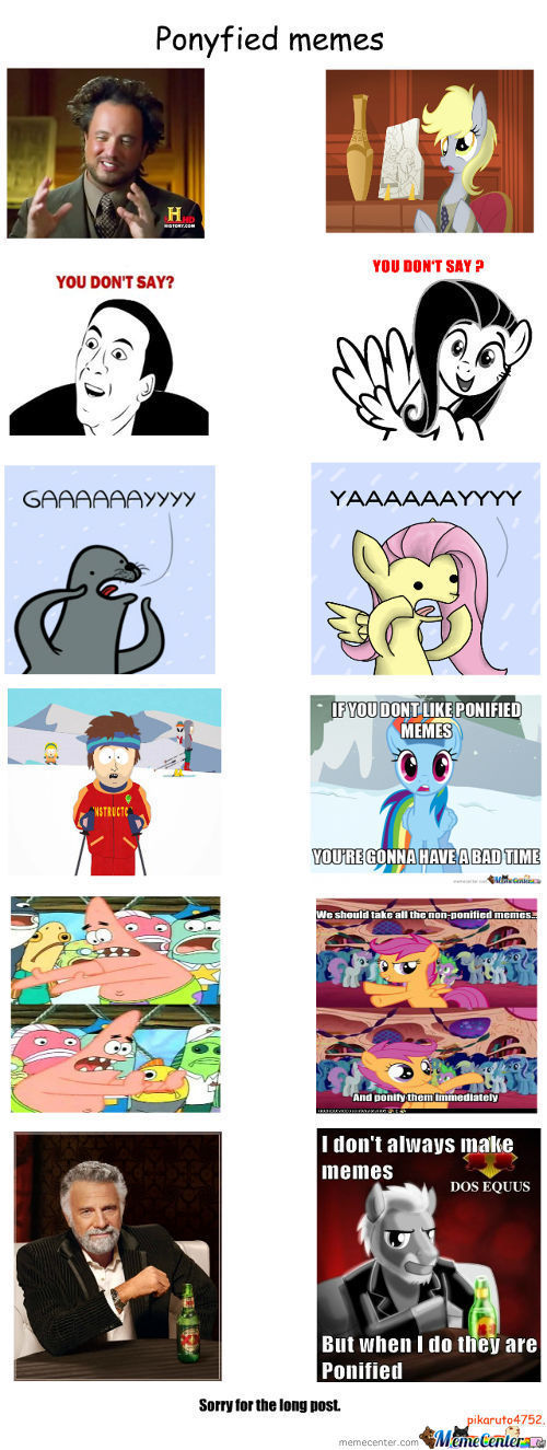 Ponified Memes