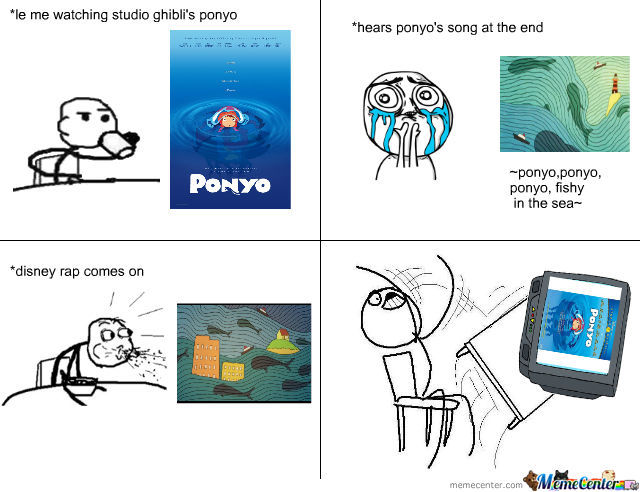Ponyo's Song Ruined