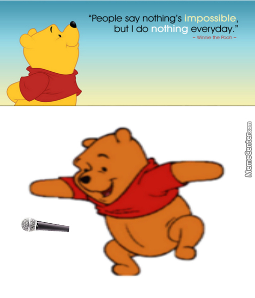 Pooh Drops The Mic