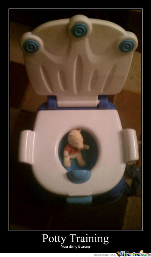Pooh In The Potty