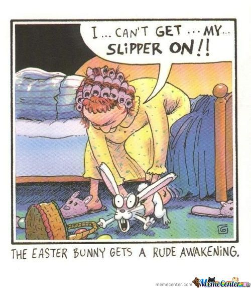 Poor Easterbunnies