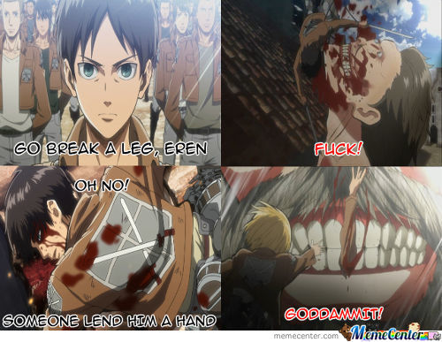 Poor Eren, This Joke Must Have Cost Him An Arm And A Leg