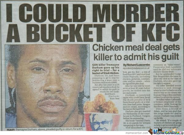 Poor Guy Loves Kfc