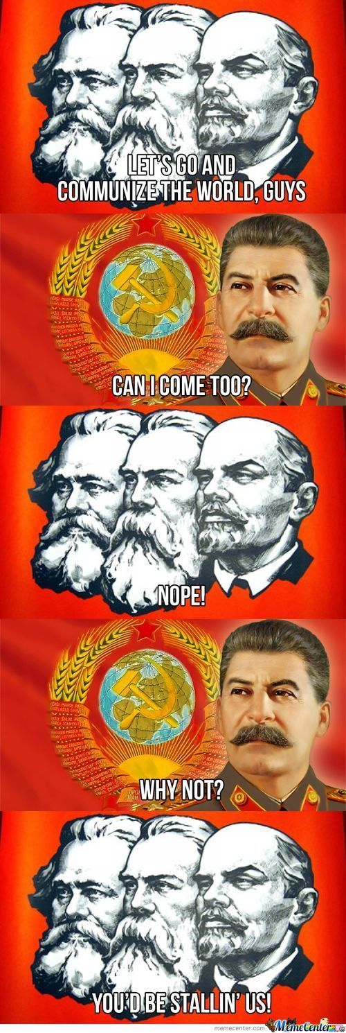Poor Guy Stalin
