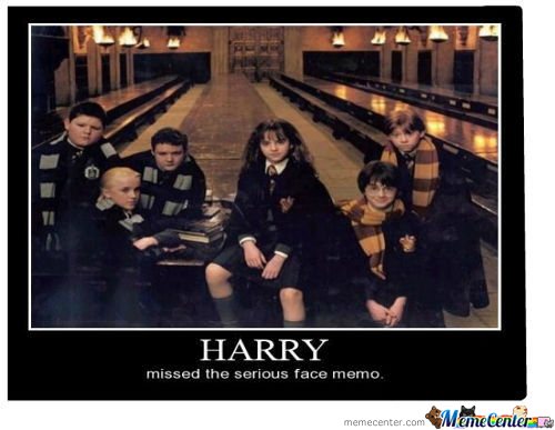 Poor Harry..