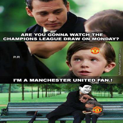 Poor Manchester United Fan