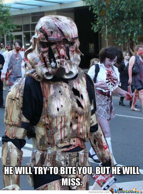Poor Stormtrooper