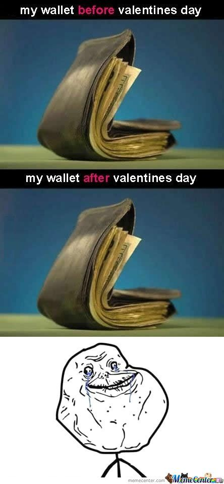 Poor Valentines Day