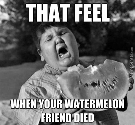 Poor Watermelon