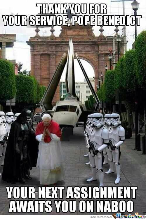 Pope Benedict's Next Assignment