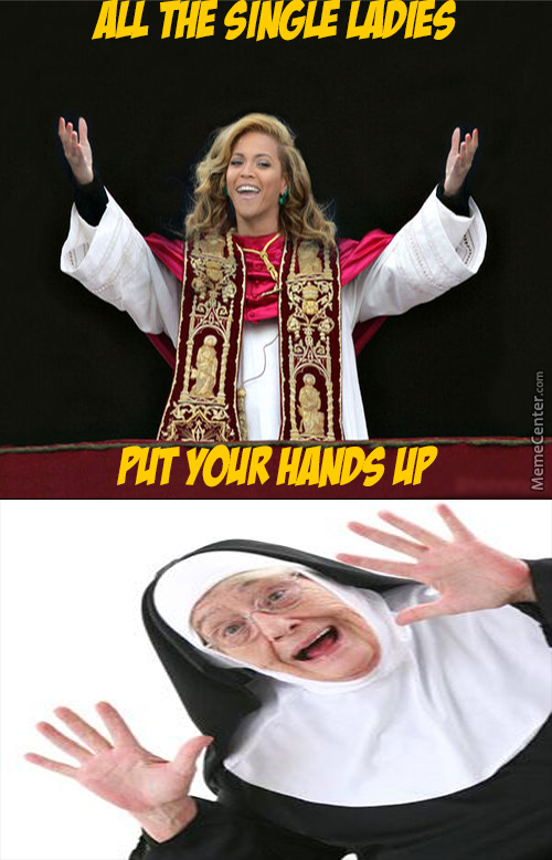 Pope Beyonce