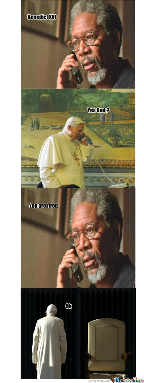 Pope True Story Morgan Freeman Ver.