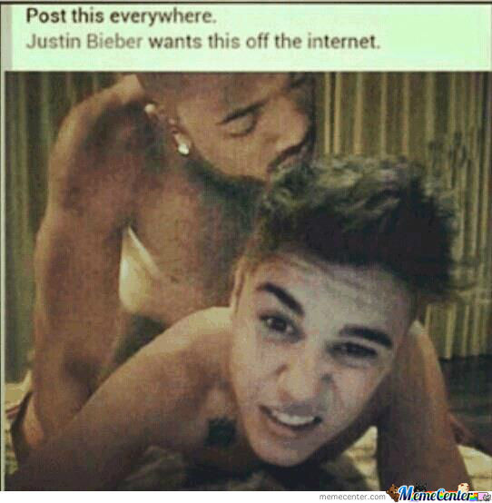 Post This Everywhere, Justin Bieber Wants This Off The Internet :d