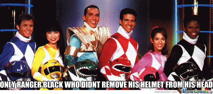 Power Ranger Racist