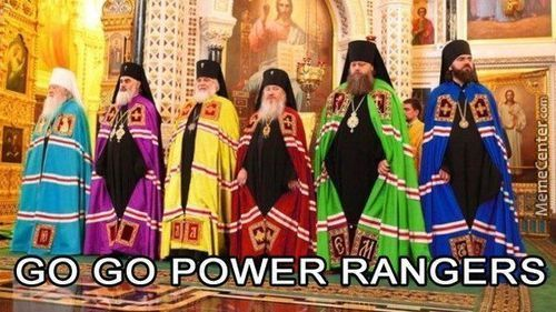 Power Rangers Ortodox Force?
