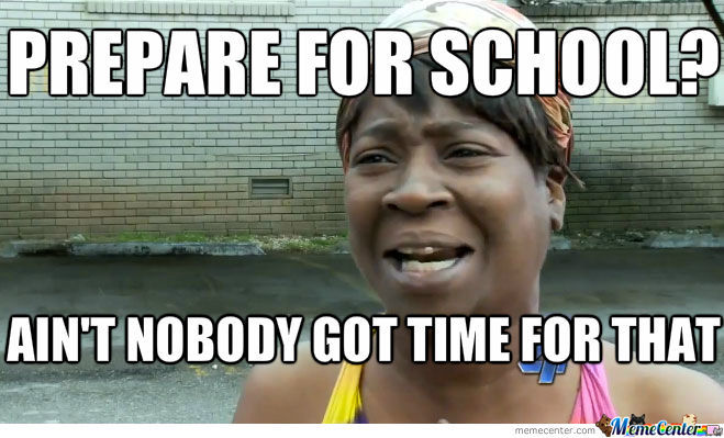 Prepare For School?