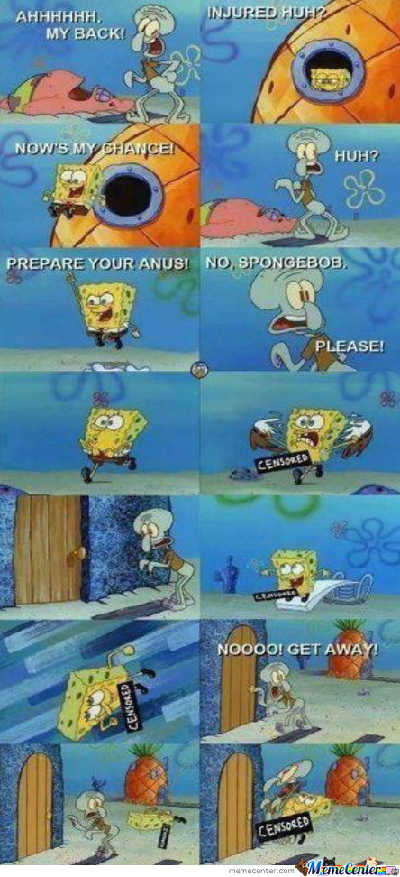 Prepare Your Anus, Squidward