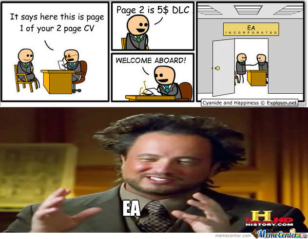 Pretty Much Sums Up Ea
