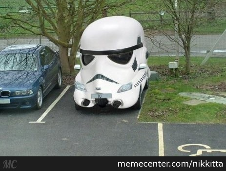 Probably The Safest Car Ever, It Can't Hit Anything