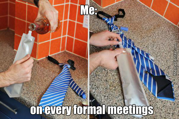 Problem Is They Kept Askin What Am I Doing With My Tie
