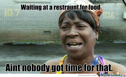 Problems At A Restraunt