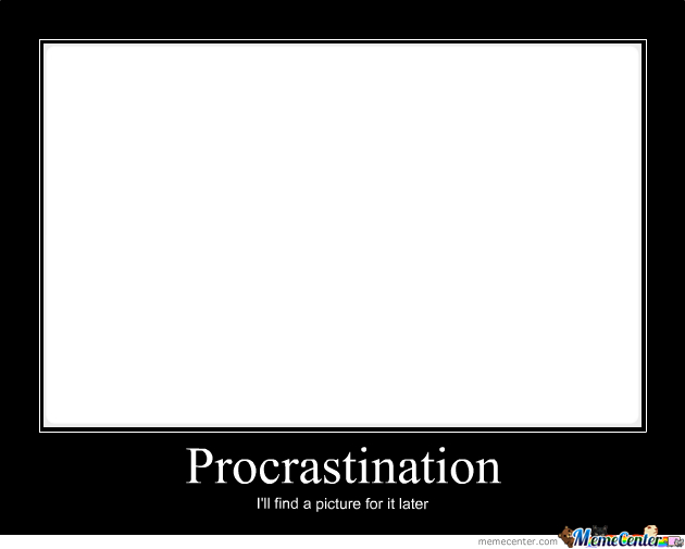 the rules of procrastination essay