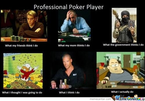 professional poker player