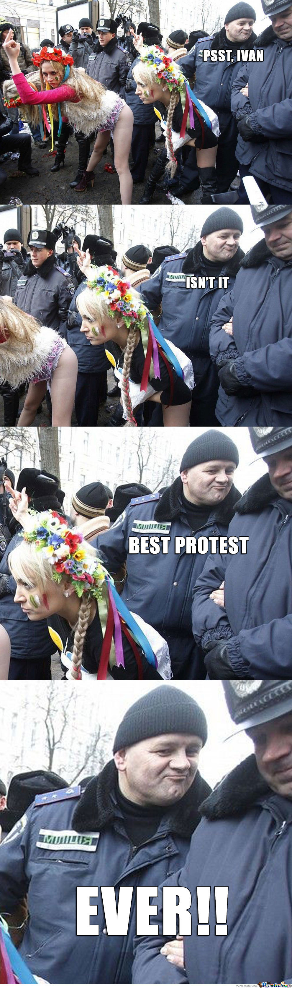 Protest In Russia