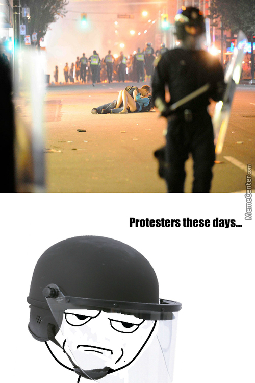 Protesters These Days...