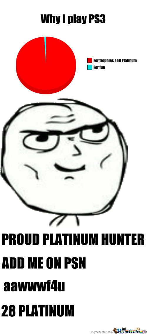 Ps3 Trophy Hunters, Unite!