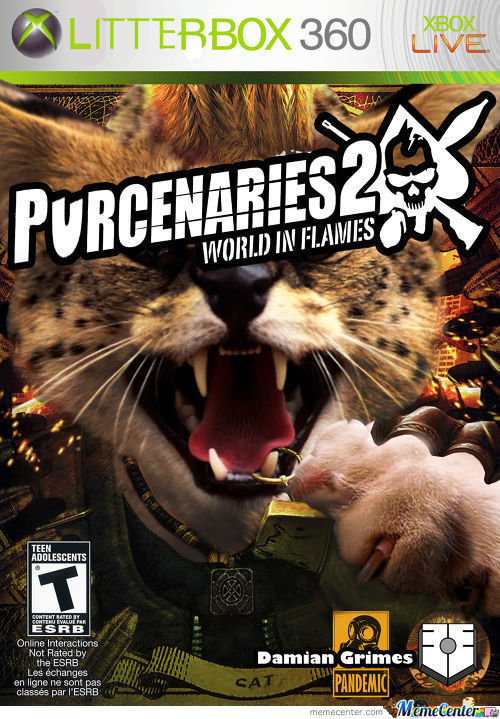 Purcenaries 2: Meows The Time For War