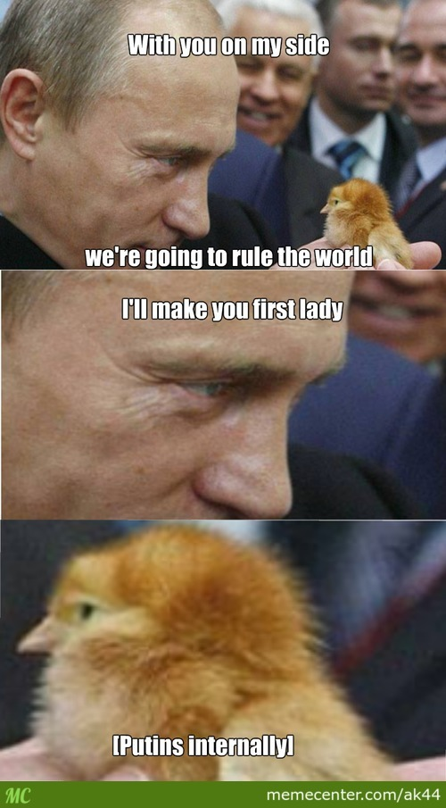 Putin's Massive Cuteness Weapon