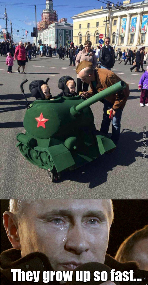 Putin Is Proud Of His Young Soldiers.
