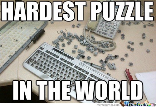 Puzzle Level: Keyboard