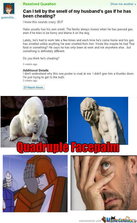 Quad Facepalm