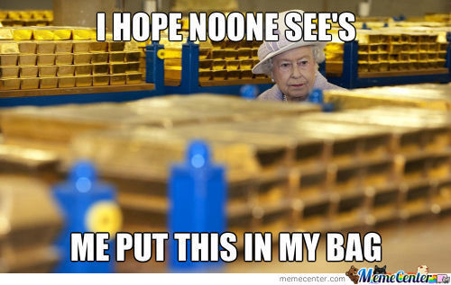 Queen Elizabeth The Stealer