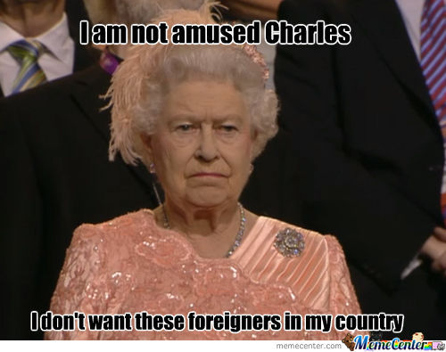 Queeny Is Not Amused