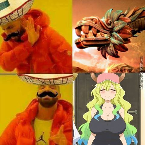 Quetzalcoatl Was A Mexican God, Now It's A Jap Waifu