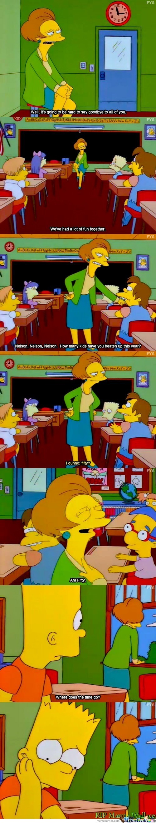 R.i.p. Marcia Wallace: Voice Actress Of Edna Krabappel