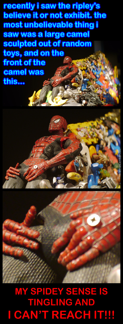R.i.p. Spiderman Junk