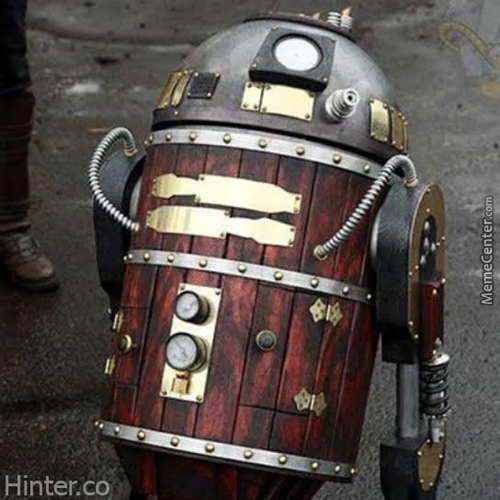 R2D2 Grandfather
