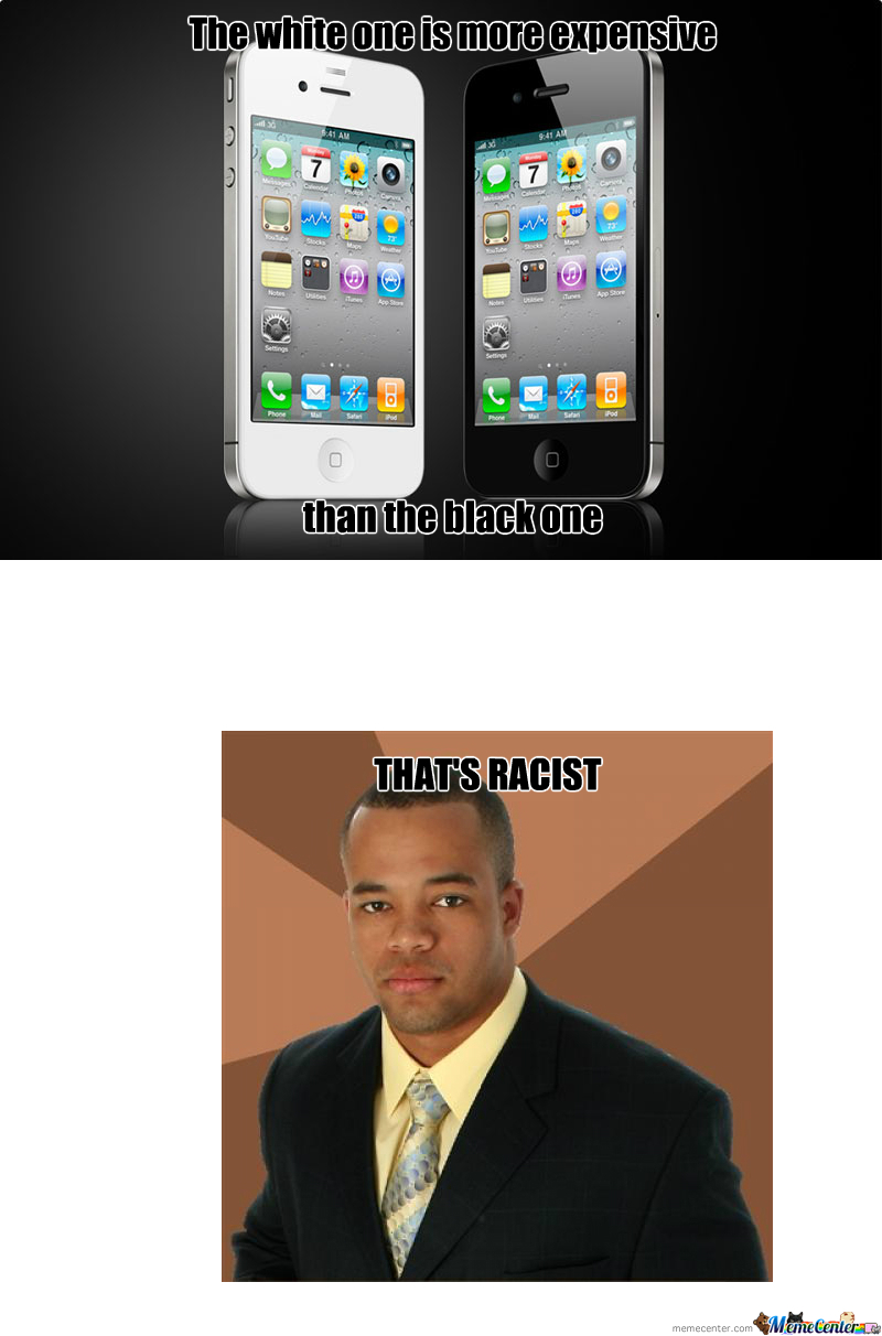 Racism, Even Apple Thinks Of It