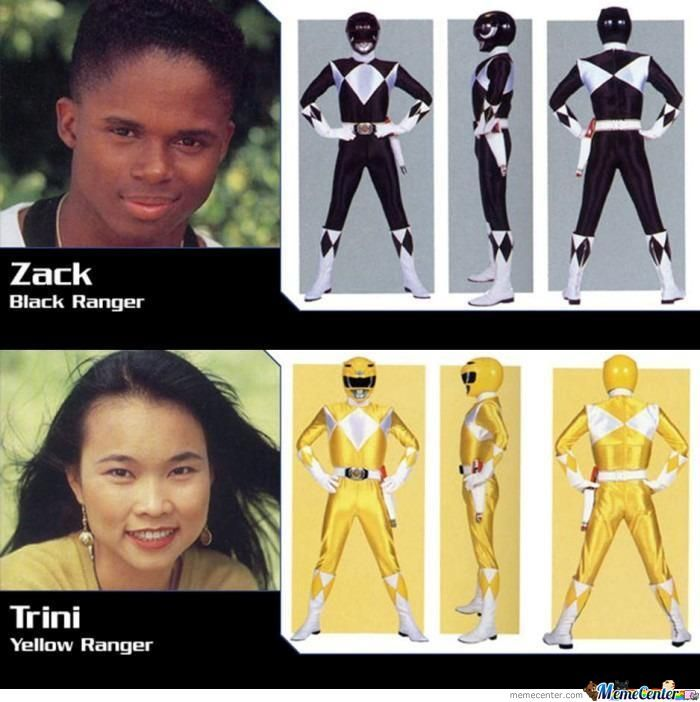 Racism In Power Ranger