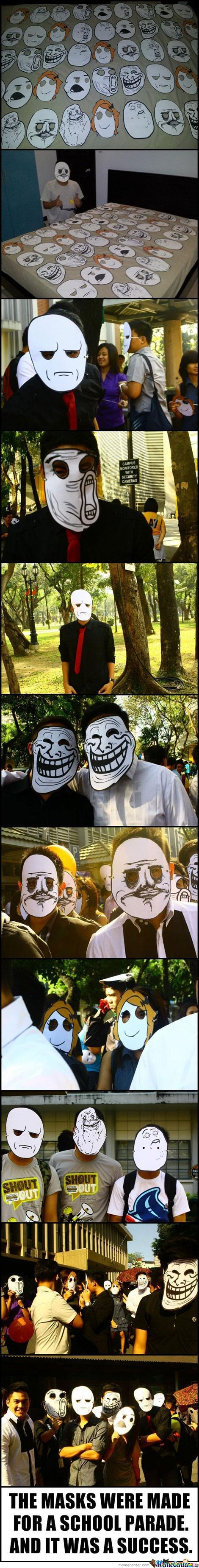 Rage Comic Parade
