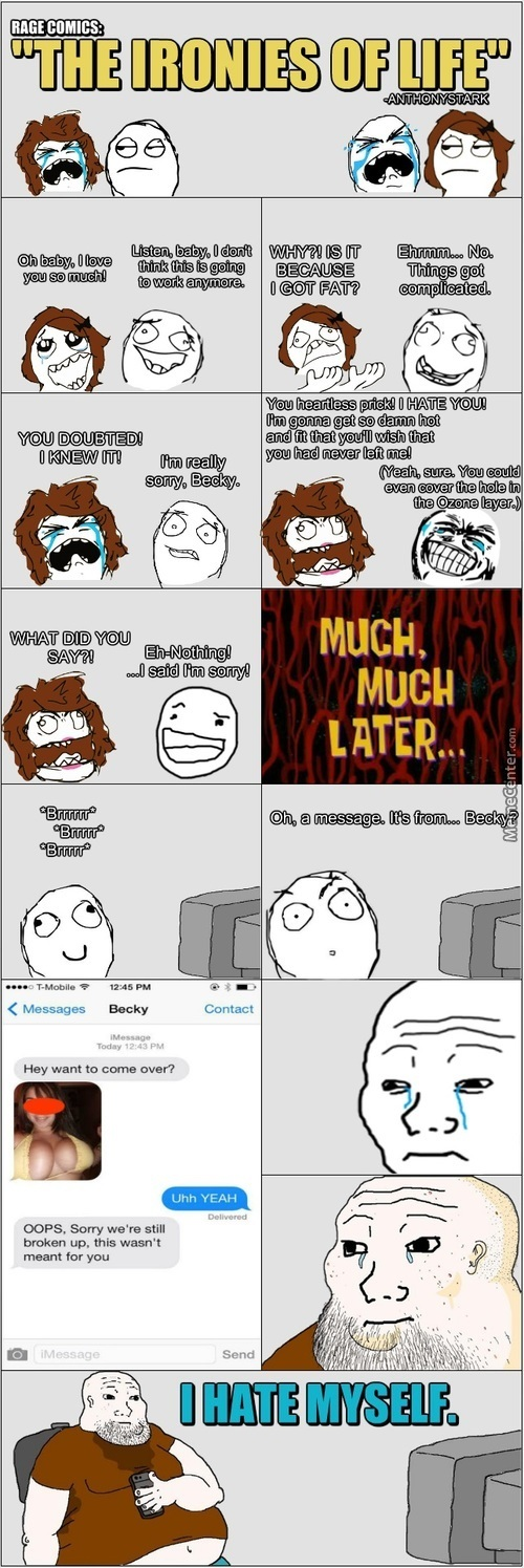 Rage Comics: The Ironies Of Life.