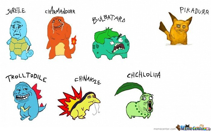 Rage Faces On Pokemon